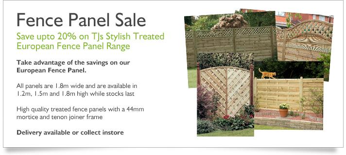 Fence Panel Sale