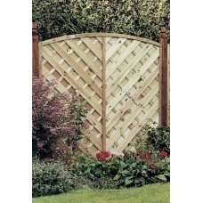 Elite St Lunairs Fence Panel 1.8m x 1.8m