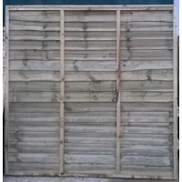 Traditional Lap Fence Panel