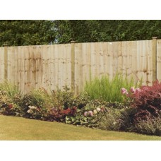 "Fencing Pack - Feathered Edge 6ft x 3ft (50ft 3"" area covered)"