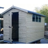 Tanalised Apex Garden Shed Range